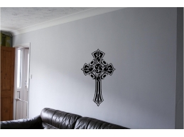 Tribal Cross Wall Sticker Wall Art Decor Vinyl Decal Mural Tribal Art Crosses