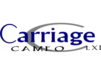 Carriage Cameo LXI 4 pc Camper RV Vinyl Decal Sticker