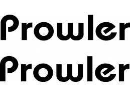 Prowler 2 pc Camper RV Vinyl Decal Sticker Camper Graphics Stickers