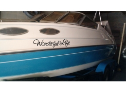 Set of 2 Boat Name Stic..