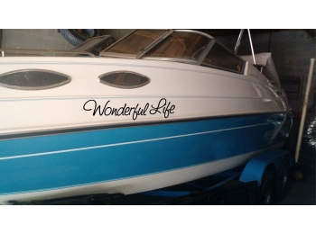 Set of 2 Boat Name Stickers 6x30 COPY