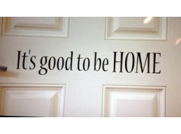 It's good to be HOME wall door sticker