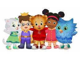 Daniel Tiger & Friends Print 4 Feet wide