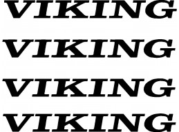 4 pc Viking Camper RV Vinyl Decal Sticker Pop Up Graphics Stickers 4 pc