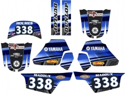 Yamaha PW 50  Graphic Kit With Name And Number