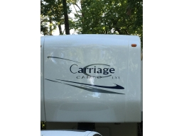 Carriage Cameo LXI & Front Stripes Camper RV Vinyl Decal Sticker Graphics