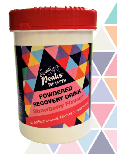 Sweet Peaks Strawberry Recovery Drink