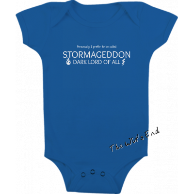 Stormageddon-Dark Lord of All onesie