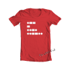 WTF in Morse Code tee