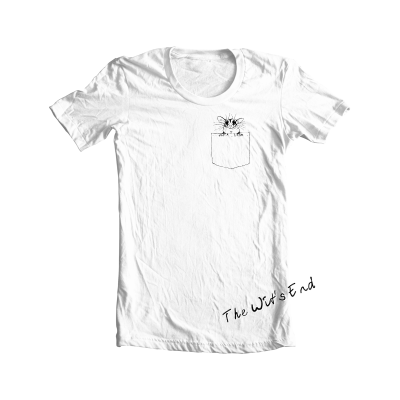 Pocket Glider - sugar glider in pocket tee