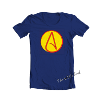 Atheist super hero tee