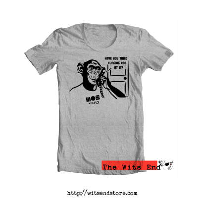 Have you tried flinging poo at it tee with chimp on IT phone