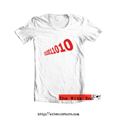 The Number of The Beast - in binary tee