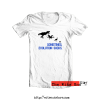 Sometimes, Evolution Sucks tee sh..