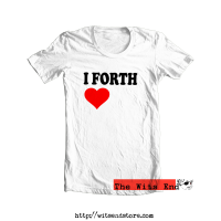 I Heart Forth version 2 tee