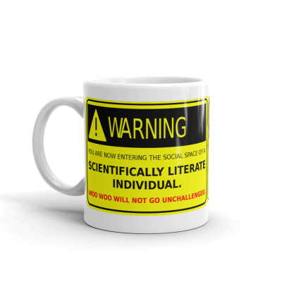 Scientifically Literate Individual 11oz Ceramic Mug