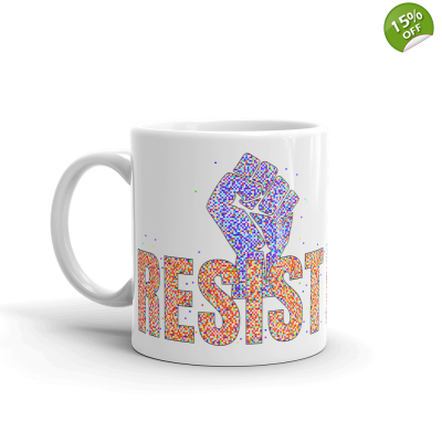 Join The Resistance 11oz Ceramic Mug