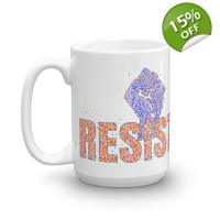 Join The Resistance 15-oz Ceramic..