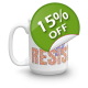 Join The Resistance 15-oz Ceramic Mug