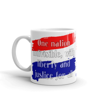 Mug 11oz One Nation Indivisible