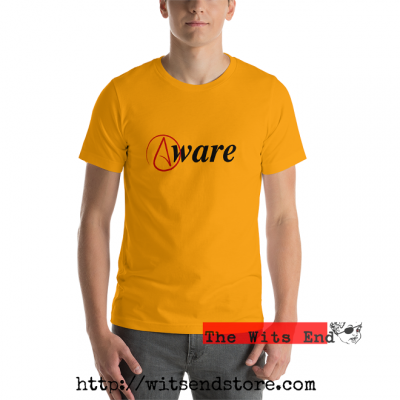 Atheist Symbol 'Aware' tee