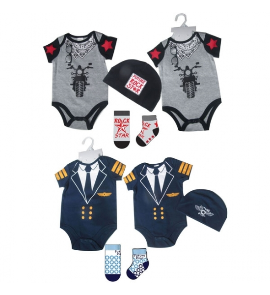 Bodysuit set Baby Boys