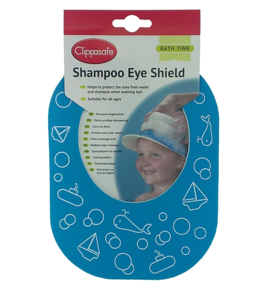 Clippasafe shampoo eye shield/protection