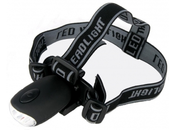 Powerplus Bat Windup Head and Bicycle Lamp