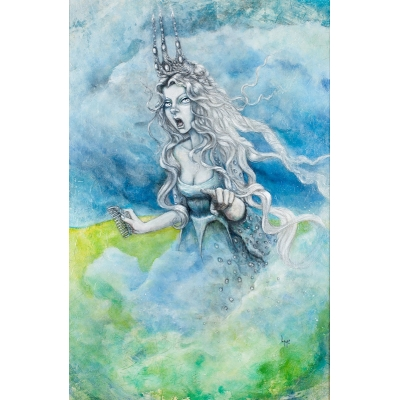 Laurie McClave - The Banshee of Clan Caomhánach - Original Painting