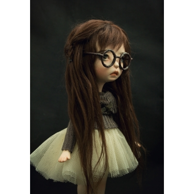 Nika Vujic - In the Dark - OOAK Doll