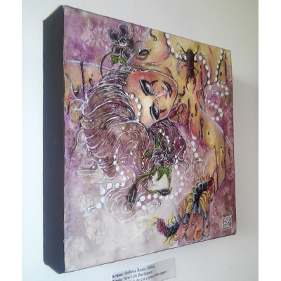 Stefania Russo - New Life Reclaimed - Original Painting