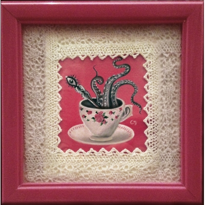 Claudia Ducalia - Nightmare Before Tea - Original Painting