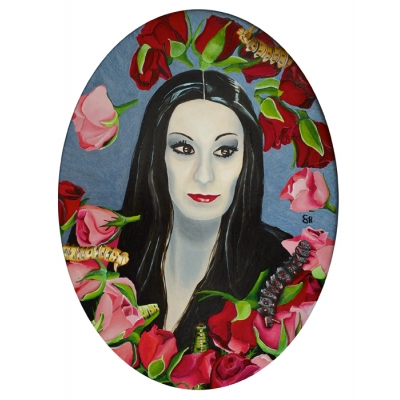 Saskia Huitema - The Beheading of Roses - Original Painting