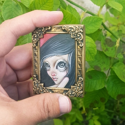 Helena Reis - Avery - Miniature Painting