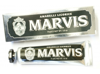 Marvis Amarelli Licorice Liquorice Toothpaste Large 75ml Tube