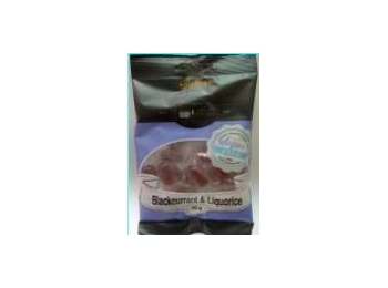 Stockleys Blackcurrant & Liquorice Sugar Free Boiled Sweets 70g