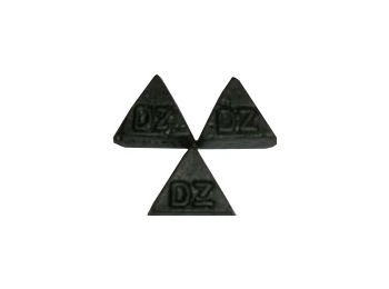 Double Salt Triangle Dutch Gourmet Liquorice 100g