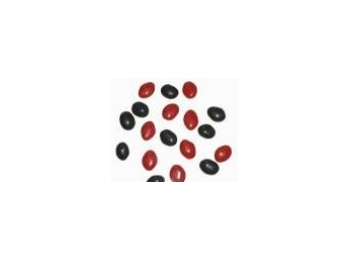 Black & Red Dragees Sugar Coated Salted Liquorice 100g