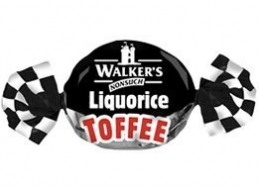 Walkers Nonsuch Liquorice Toffee 100g