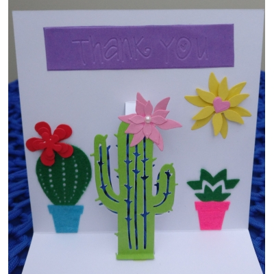 3D pop up cactus h..