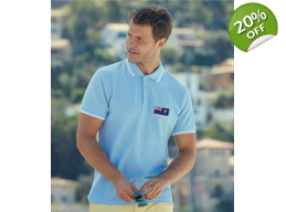 Trimmed Cotton Polo Shirt