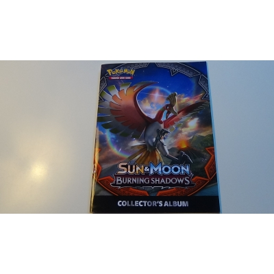 Sun & Moon Burning Shadows Album/Binder/Map/Book/Portfolio Pokemon Pokémon