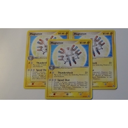 Magneton EX FireRed and Leaf Green 27 / 112  Pokemon Pokémon