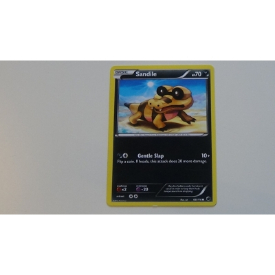 Plasma Freeze 68 / 116 Sandile Pokemon Pokémon