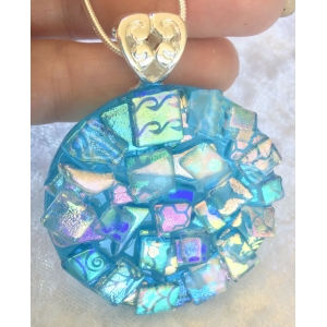 Large Round Dichroic Gl..