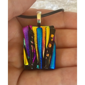 Small Dichroic Glass Pe..