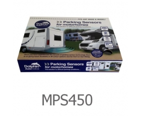 MPS450 - 4 Reversing Sensors with Dashboard Display - For Motorhomes