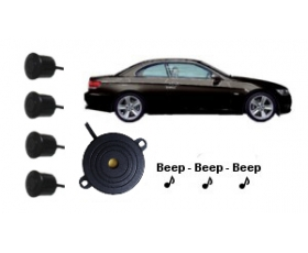 D24400 - Dolphin 24V Audio Reverse Parking Sensors