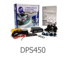 DPS450 - 4 Parking Sensors - Audio & Dash Display