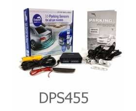 DPS455 - 4 Parking Sensors - Audio & Roof Display